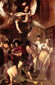 Caravaggio, Opere di misericordia