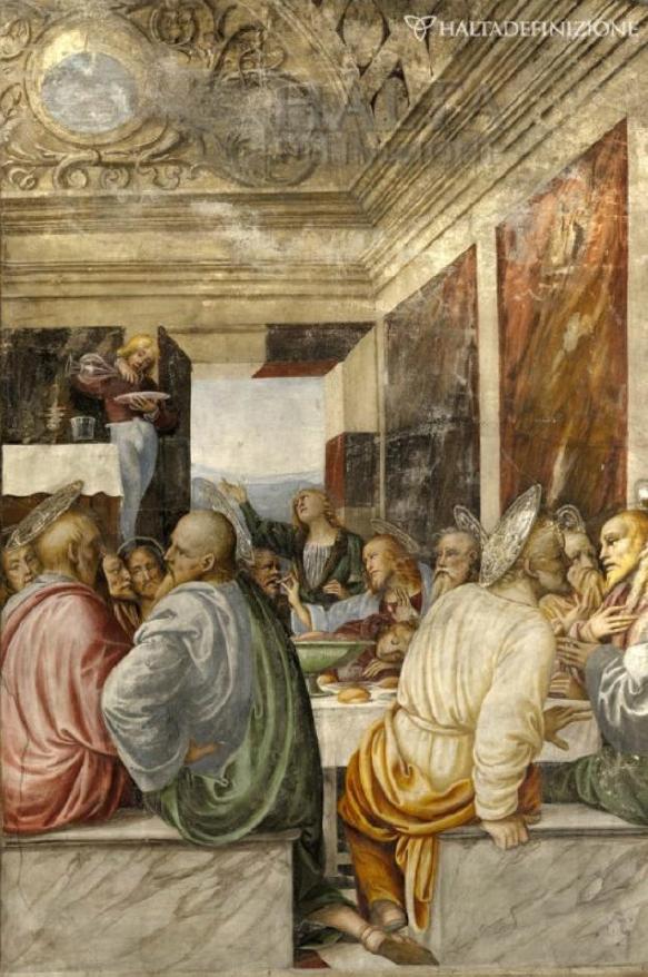 """Gaudenzio Ferrari - """" Ultima Cena"""" - Chiesa di Santa Maria delle Grazie - Varallo"""