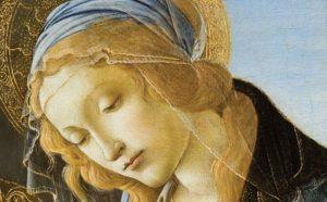 Sandro Botticelli, Madonna del libro, 1480-1