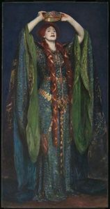 Ellen Terry nella parte di Lady Macbeth, ritratta da John Singer Sargent nel 1889.