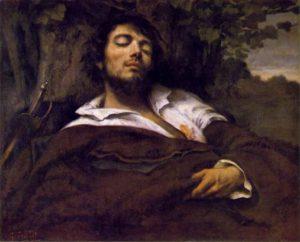Gustave Courbet L'uomo ferito 1844-1854