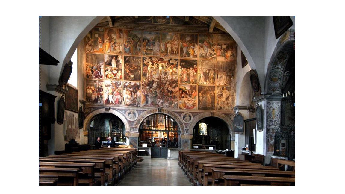 Tramezzo decorato da Gaudenzio Ferrari in Santa Maria delle Grazie - Varallo Sesia