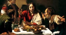 Caravaggio, Cena in Emmaus, 1599-1601