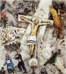 Marc Chagall, Crocifissione bianca (1938)