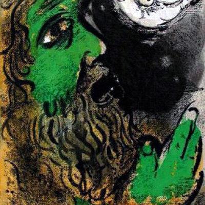 Marc Chagall, La preghiera di Giobbe