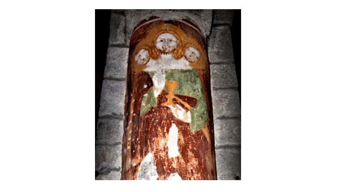 Chiesa parrocchiale di Santa Maria Assunta ad Armeno (NO) _ TRINITA' - Sec. XVI.