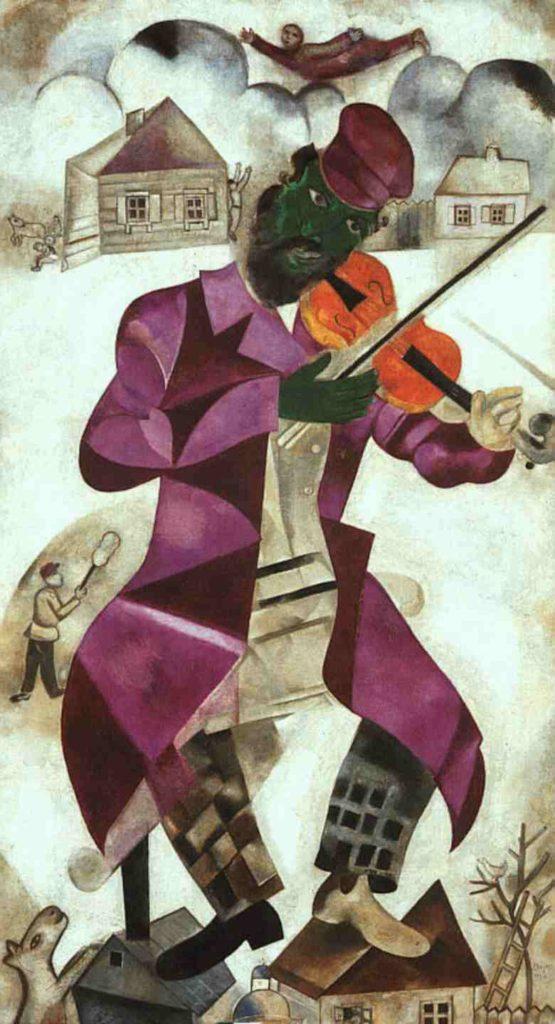 Marc Chagall, Il violinista verde