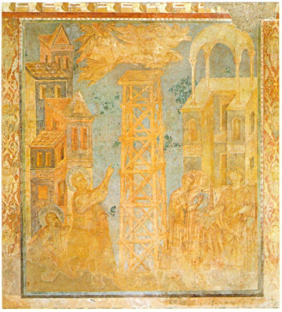 Assisi – Basilica Superiore di San Francesco – transetto destro -Cimabue e aiuti 1277-1283