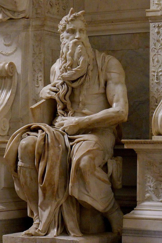 Mosè di Michelangelo, basilica di san Pietro in Vincoli, Roma