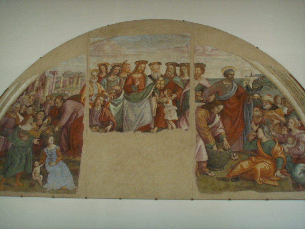 Firenze - Chiesa di Sant'Antonino - Raffaellino del Garbo – 1503