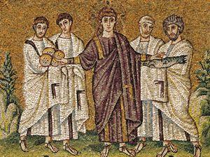 Ravenna – Chiesa di Sant'Apollinare Nuovo – mosaico V secolo