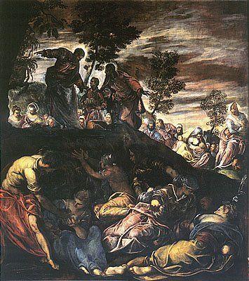 Venezia - Jacopo Tintoretto - Scuola grande di San Rocco -1578-81