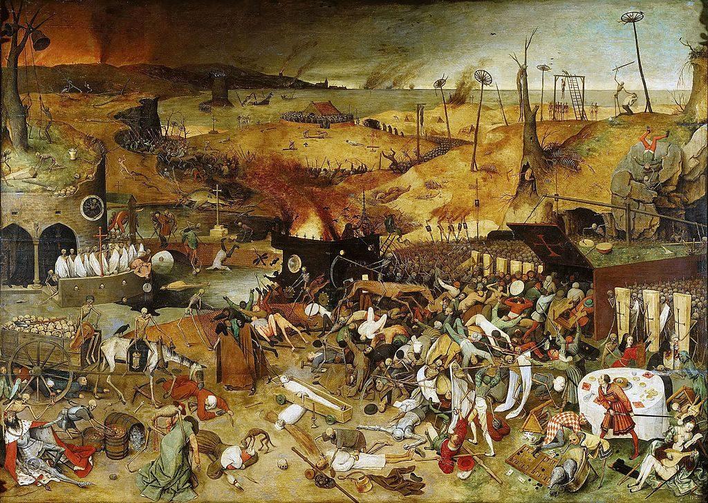 Madrid –Museo del Prado -PieterBruegel il Vecchio – olio su tavola 1562, circa