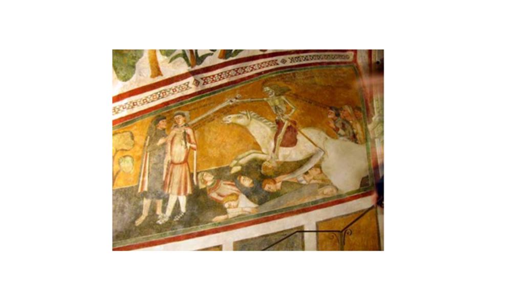 Subiaco (Roma) Monastero di Sacro Speco - metà del XIV secolo