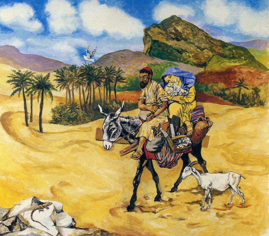 Renato Guttuso - Fuga In Egitto