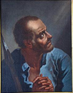 Giambattista) Piazzetta (Venezia, 13 febbraio 1683 – Venezia, 29 aprile 1754), San Tommaso, olio su tela,