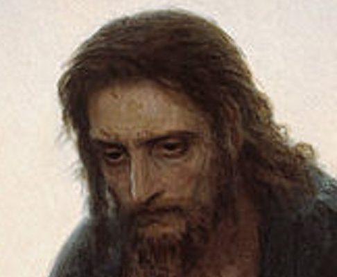 Kramskoj-Cristo-nel-deserto-particolare-volto